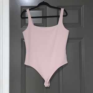 express pale pink bodysuit